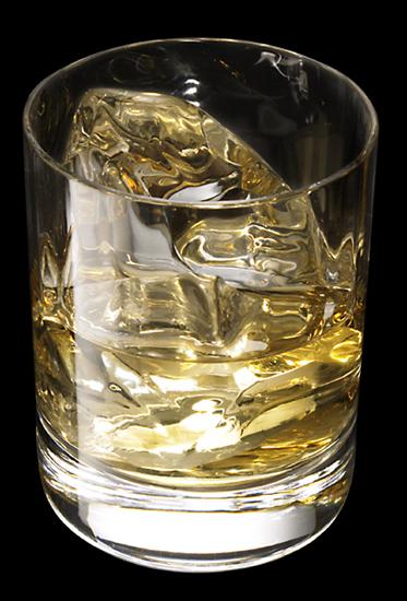 ウィスキーを少しだけ。